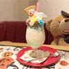 ゆめかわいい!チョコミントのユニコーンパフェ(ALL C's CAFE @高円寺)