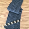 初心者でも編める!棒針編み