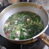 幸運な病のレシピ( 2047 )朝 :味噌汁、マユのご飯