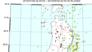 関東では、深い地震が多発。三河湾や東海沖では深発地震が発生