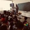 若松小学校の2年生にボランティアの話をしてきました。
