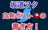 【解決策】坂道ヲタの自発ポストの書き方!テンプレも公開します!