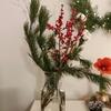 クリスマスの枝もの