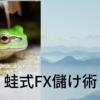 蛙式FX儲け術