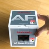 レンズレビュー〜SAMYANG AF 24mm F2.8 FE