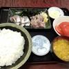 西川口の「あおき食堂」であじ刺身定食を食べました★