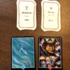 今週のカードは「流れに身をまかす」アドバイスカードは「消耗」アロハウハネカードは「収穫祭」と「光と闇」でした
