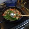 幸運な病のレシピ( 346 ) 夜:煮しめ(朝は鮭のソテー、昼はカレー)