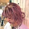 【ペールピンクカラー】色落ち抜群!【デザインカラー】