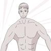 男性を描く!練習3