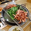 【光化門】ちょっと変わった食べ方の燻製鴨肉@병천유황오리/ピョンチョンユファンオリ