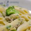 昼食_ツナとブロッコリーのクリームペンネ
