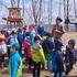 森のお遊び会4月 麦の種まき 春探し探検隊