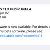 iOS11.3 Public Beta4がリリース