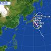台風が13号が近づいてきています
