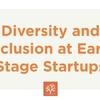 アーリーステージのスタートアップにおける多様性と包摂 (Startup School 2017 #15, Kat Manalac)