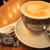 ア・コルーニャのカフェ、SIBONYでカフェ・コン・レチェ
