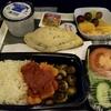 Air Franceの機内食と、何処に来ているでしょう?