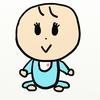 赤ちゃんをもっと可愛く描きたい。