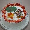 ミッキーのクリスマスケーキを作ってみたよ!