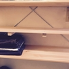 【DIY】すのこで無印良品のユニットシェルフの棚板を安価に作る、648円で2段追加!