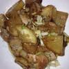 """""""大根と鶏もも肉のバター醤油で☆炒め煮 by ジャカランダ☆""""を作りました!【クックパッド】 #cookpad"""