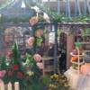ミニチュア、DIY House キット[Rose Garden Tea House]を作ってみました