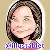 iPadproで描いた 朝日奈央さんの似顔絵と似顔絵動画。