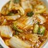 麻婆白菜のレシピ