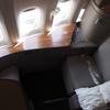 キャセイパシフィック航空 First Class B777-300ER CX472 HKG-TPE