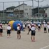 チャレンジ運動会にむけて:低学年競技(大玉送り)の練習