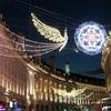 ロンドン街は、キラキラと美しいクリスマスモード