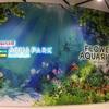 去了最喜歡的水族館。大好きな水族館に行きました