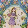 【空想好きなアイビーちゃんのページ】プリズマカラーで塗ってみた