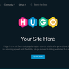 Hugo を試す(Windows)