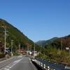 日本 秋の根尾の平和なひと時
