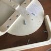 ボルトの緩みを修理。削れた穴を埋める。パテ/六角/物を減らす効果