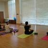 第2回「呼吸と寝たまんまヨガ瞑想」のようす