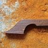 チェロ弓の製作 ヘッドのデザインと削り出し