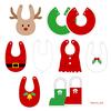 クリスマススタイの作り方【型紙8種類】