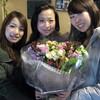大学の先生に贈る花束
