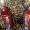靴磨きのちょっとしたコツを伝授!ブラウンカラーの靴を磨く♪