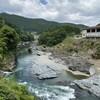 桜なき吉野、宮滝、そして芋峠 (1) 吉野駅~宮滝