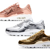 "3/26(木)発売。NIKE AIR MAX 90 SP ""Metallic Pack"""