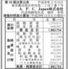 A.P.C. Japan株式会社 第26期決算公告