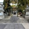 碇(いかり)神社、白島町この辺りも海でした。(二葉の里、歴史の散歩道)