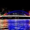 もう見た?隅田川橋梁のオリ・パラ特別ライトアップ!東京2020閉幕まであとわずか