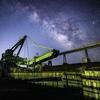 【天体撮影記 第127夜】 長崎県 炭鉱の島、池島の廃炭鉱と変わらぬ星空