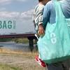 アシックスジャパンがリサイクルエコバッグ「GREEN BAG」を発売中