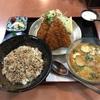 🚩外食日記(69)    宮崎   「かつれつ軒」② より、【冷汁・アジフライセット】‼️